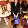 Stylish guest at Elaine Turner New York store