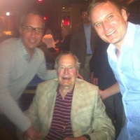Mark Sullivan, George HW Bush, Jason Reeves, Gigi's