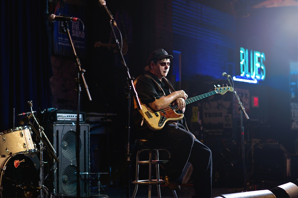 Austin Photo: News_photo essay_ashley carter_texas blues musicians_July 2012_Tommy Shannon 2