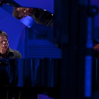 Philip Glass concert, December 2012, piano, reflection, The Menil