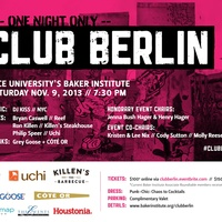1 Advertorial Club Berlin October 2013 Club Berlin poster