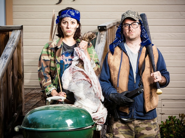 """Barbecue Apocalypse"" at Kitchen Dog Theater in Dallas"