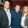 Scott Thelander, from left, Jon Weeks and Amber Hartland at the Friday Night Lights Depelchin benefit November 2014