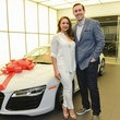 Angela and Owen Daniel at the Audi Central Houston grand opening March 2014