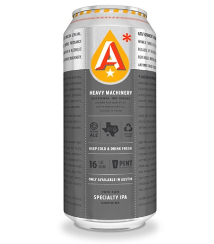 Austin Beerworks new beer