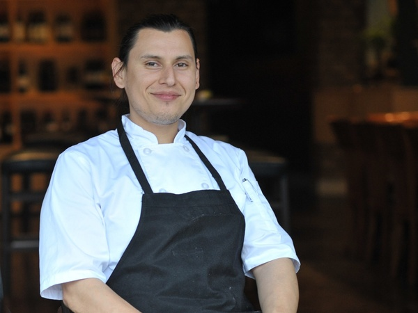 Chef German Mosquera, Roots Bistro, Roots Juice
