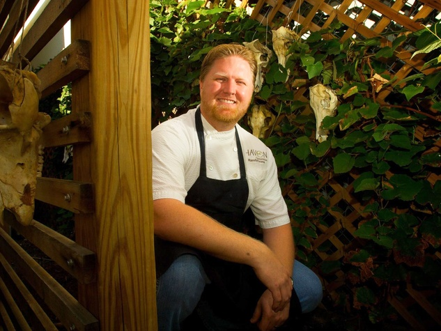 Randy Evans, chef, Haven, April 2013