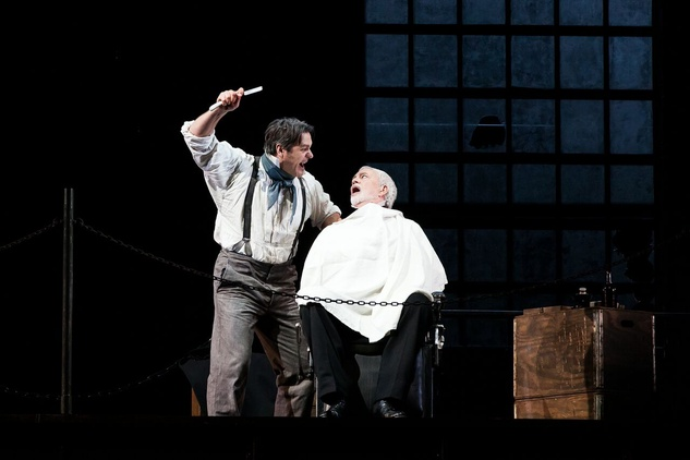 Sweeney Todd at HGO 2015