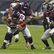 Texans Falcons big hit Clowney