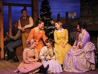 A Little House Christmas, Main Street Theater, November 2012, cast