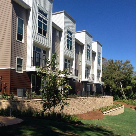 Houston, Vargo's On the Lake, May 2015, townhomes