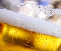 beer, glass, foam, bubbles
