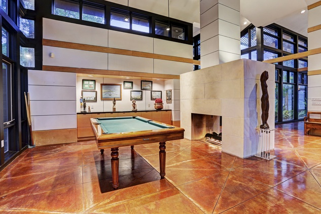 On the Market 12020 Tall Oaks St. Frank Lloyd Wright house July 2014 game