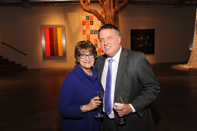8 7209 Cissy Segall Davis and Marc Melcher at the reception for Jamie Bennett November 2014