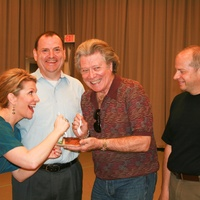 News_Sam Ramey birthday party_April 2012_Joyce DiDonato_Perryn Leech_Samuel Ramey_Patrick Summers