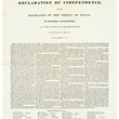 Texas Declaration of Independence, the Alamo, stolen document, November 2012