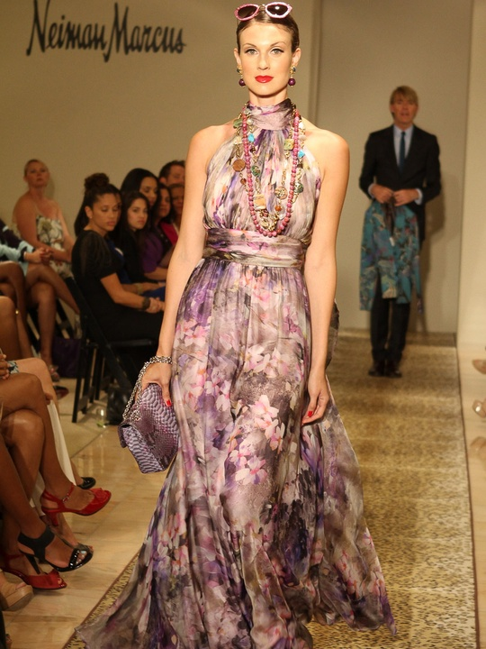 What you should be wearing neiman marcus fashion guru pulls ken downing picks june 2012 muted floral evening gown junglespirit Gallery
