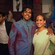 Director and lead actor Prakash Mohandas and Mary Bastos at Bollywood Ball