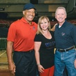 Boys & Girls Harbor Fantasy Football party September 2013 Elvin Bethea, Cydny and Thomas Roberts