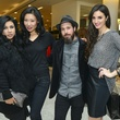 Leslie Rivas-Kelly, from left, Yuan Yuan, Collin Kelly and Kaitlyn Denney at the Dec My Room Fashion Show February 2014
