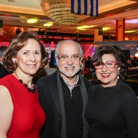 5 Franelle Rogers, left, with Alan and Roz Pactor at The Social Book 2015 Launch Party January 2015