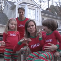 Viral Christmas card video