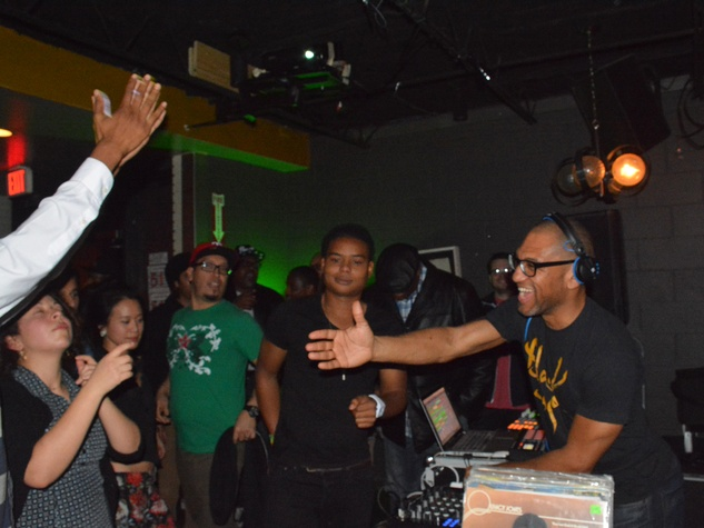 King Britt at The Flat January 2014