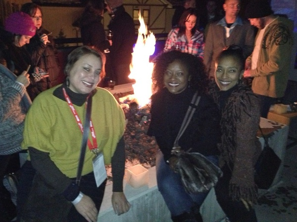 Houstonians at Sundance, January 2013, Angela Craven, Linda Bell, Jackie Fair