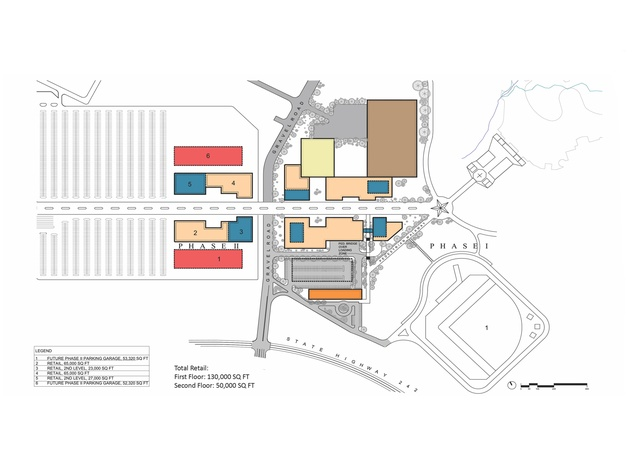 1 Grand Texas plans November 2013 site plan