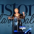Mayor Annise Parker speaking at the Consular Ball October 2013