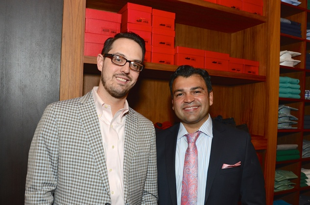 News, Shelby, Latin Women's Initiative reception, May 2015,  Matt Dionne, Cesar Guerra.