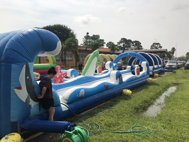 Pine Cover waterslide