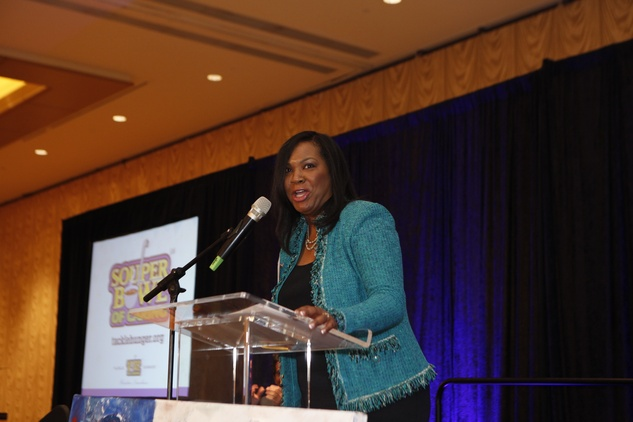 News, Shelby, Souperbowl of Caring luncheon,Clare Cooper,,Sept. 2014