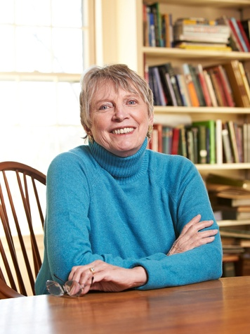 Lois Lowry, author, head shot, 2012