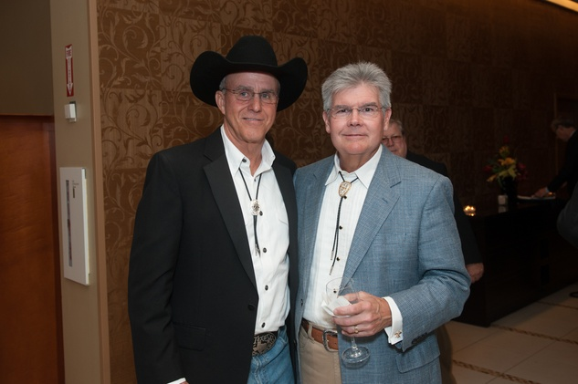 9 Tom Fuller, left, and Buddy Bolt at the Northwest Ministries Jeans & Jewels Gala October 2014