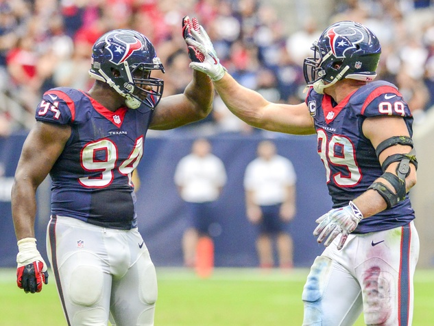 J.J. Watt Antonio Smith Texans