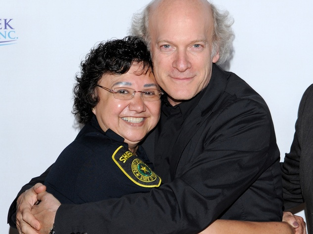 Sheriff Lupe Valdez, Timothy Greenfield-Sanders, Black Tie Dinner, HBO