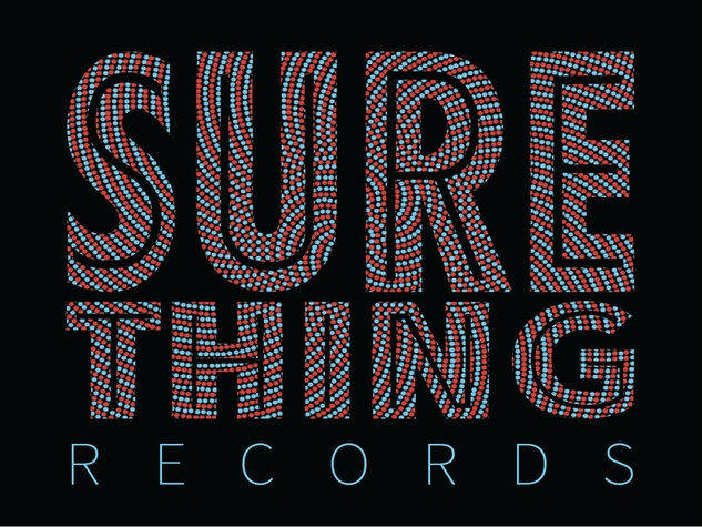 logo for Sure Thing Records comedy label