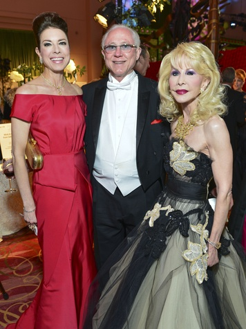12 Karen and Mel Payne, from left, with Diane Lokey Farb at the Opera Ball April 2014