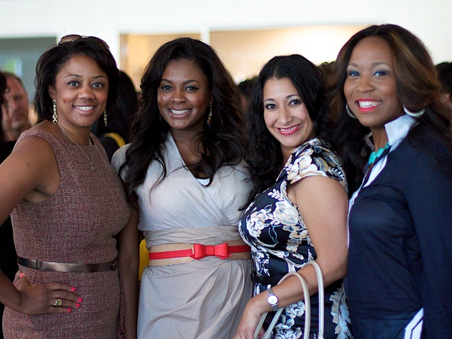 News_Houston Young Professionals_Culture Collision_May 2012_Denise Furlough_Ebony Goudeau_Crystal Rideau_Erica Davis Rouse