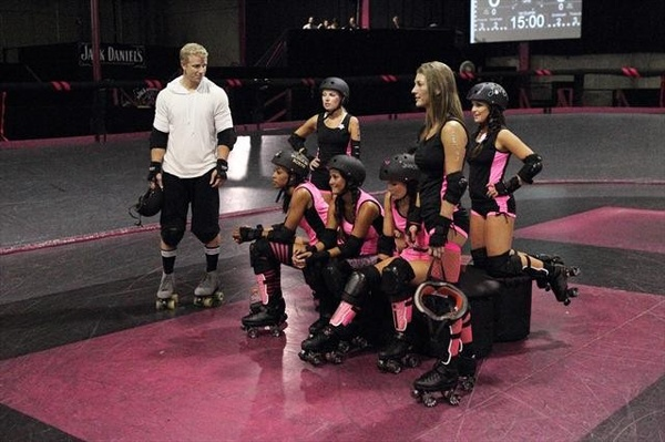 The Bachelor roller derby