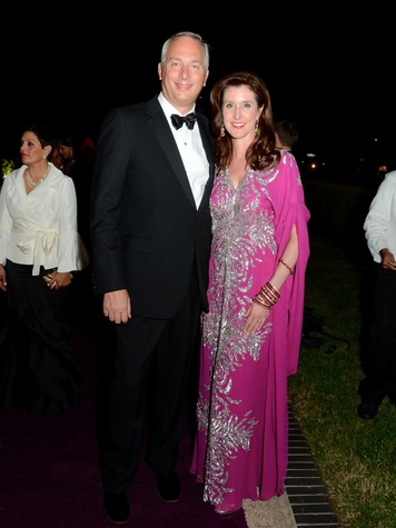 9 Bobby and Phoebe Tudor at the Museum of Fine Arts, Houston Ball October 2013