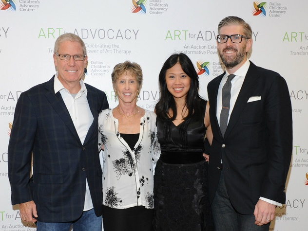 Tom & Kathi Lind, Leslie & Nathan Johnson, Art For Advocacy
