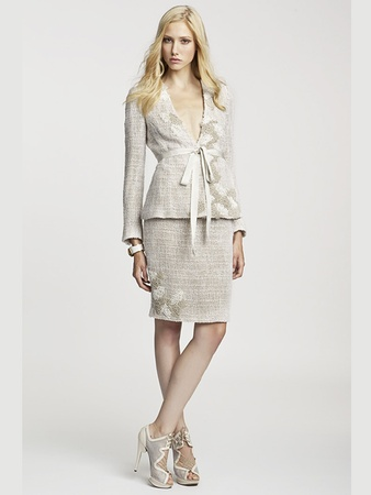 News_Fotini_Elizabeth Anthony_Esther Wolf_trunk show_March 2012_Katherine Jacket, Kate Pencil Skirt