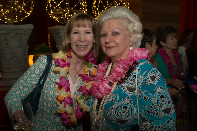 8 Lisa Yelenick, left, and Nellie Muermann at the Flock and Flamingle event September 2014