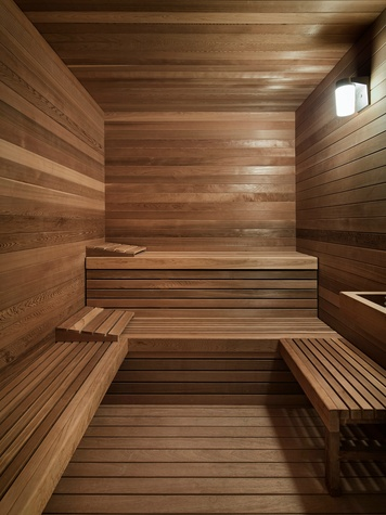Austin home Floating Box House 900 Live Oak Circle West Lake Hills 78746 April 2016 sauna