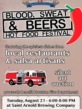 """Blood, Sweat & Beers"" Hot Food Festival"