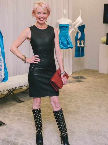 Elegant Leather Dresses