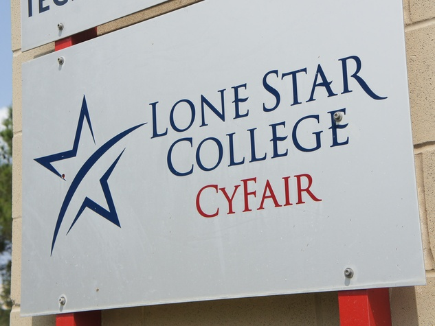 Lone Star College Cy-Fair sign