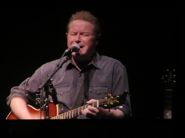 Don Henley at Eagles concert at Toyota Center February 2014